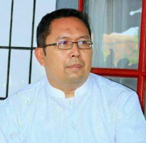 Kepala Badan Kesbang Pol Kab. Bandung, H. Iman Irianto, S.Sos berharap Kabupaten Bandung tetap kondusif  jelang aksi 2 Desember mendatang. ( foto/ saufat endrawan/ opininews.com )